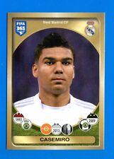 FIFA 365 2016-17 Panini 2017 Figurina-Sticker n. 85 - CASEMIRO -REAL MADRID-New