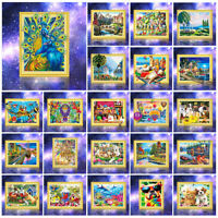 40x50cm 5D Diamond Painting Embroidery Cross Craft Stitch Home Wall Decor Tools