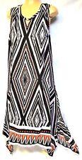 plus sz L / 22 VIRTU TS TAKING SHAPE Arizona Midi Dress reversible NWT rrp$110!