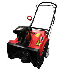 "Warrior Tools Gas 4 Cycle Single Stage 20"" Snow Thrower Blower 87cc Engine"