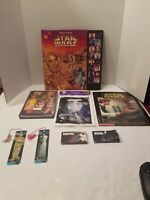 HUGE VINTAGE LOT PLAY-A-SOUND STAR WARS A NEW HOPE BOOK + TONS OF RARE EXTRAS!