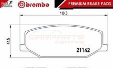 BREMBO GENUINE ORIGINALE PREMIUM SET PASTIGLIE FRENO PADS Asse Anteriore P79001