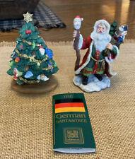 German Santa And Tree Christmas Around the World Galleria Lucchese Roman 71135