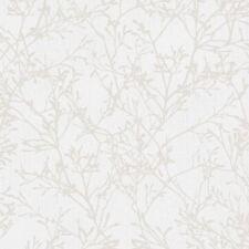 Tranquillité Arbre Papier Peint - Gris/Argent - Fine Decor FD41712
