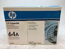 Genuine HP CC364A 64A Black Toner Cartridge for LaserJet P4014 P4015 P4515 - NEW
