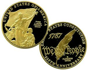 FORM A MORE PERFECT UNION  UNITED STATES CONSTITUTION COIN PROOF VALUE $99.95