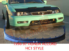 HC1 FRONT LIP for 1996 1997 HONDA ACCORD COUPE SEDAN NONV6 Unpainted ABS Plastic