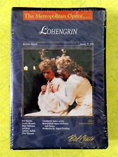 Lohengrin ~ New VHS Movie ~ Classical Opera Music Singer Theater Sealed Video