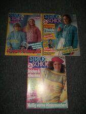 3 Strick & Schick Strick & Bastelhefte