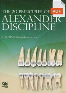 The 20 Principles of the Alexander Discipline - R. G. Alexander