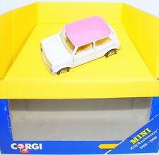 Corgi Toys 1:36 MORRIS MINI COOPER ROSE 30th Anniversary Edition Model Car MB`89