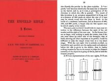 The Enfield Rifle, A Lecture 1858 by Maj. A. Stewart