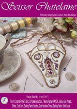 Scissor Chatelaine embroidery kit-Design by Irene Junkuhn-Rajmahal art silk kit