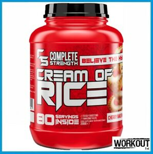 Complete Strength Cream of Rice Fast Acting Carb 2kg 80 Servings