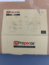 TV Wall Bracket - ProperAV P-SWB503B-1 Full Motion  - 30kg Max - New - Free P&P