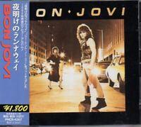 Bon Jovi / Bon Jovi Self Tilted Debut Album JAPAN CD with OBI PHCR-4267