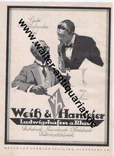 Druckerei Weiß & Hameier Ludwigshafen Große Werbeanzeige 1926 Ludwig Hohlwein ad