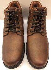 Johnston & Murphy Lance Tan Brown Plain Toe Boot Waterproof Men's 9 M 59-12352