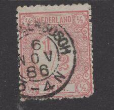 Nvph 30 II met bossche tanding; 6 NOV 1886