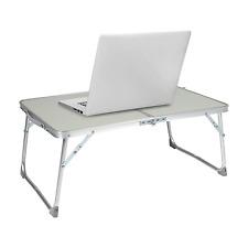 Milliard Aluminum Laptop Foldable Table, Breakfast in Bed Tray, Standing Desk