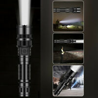 Hot 50000LM T6 Tactical Military LED Flashlight 18650 Torch Direct charge 5-Mode