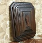 Groove entrelas wood carving panel Antique french architectural salvage