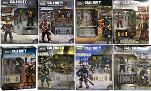 ALL 8 Mega Construx Call of Duty  Weapon Crates GDG50 & GFW76 NAVY FIREBREAK