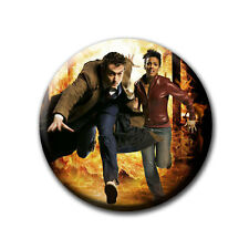 David Tennant - The Doctor / Doctor Who - Kühlschrankmagnet mit Ø 60 mm [M4]