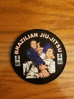 "Brazilian Jiu Jitsu Gi Patch 4"" round IRON-ON"