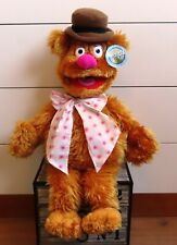 Large Fozzie the Bear Doll from Nanco Muppets Muppet Show Jim Henson 60 cm