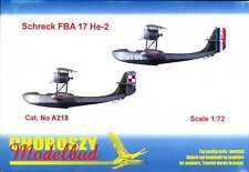Choroszy Models 1/72 SCHRECK FBA 17 He-2 French Flying Boat