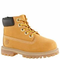 Timberland toddler 6 in premium wheat nubuck boots