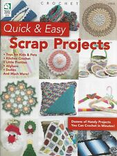 New listing New Quick & Easy Scrap Projects Doilies Afghans 38 Designs Crochet Pattern Book