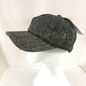 Goodfellow & Co Mens Baseball Cap Hat Basic Gray Wool Blend Adjustable OS