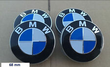 4pz TAPPI COPRIMOZZO RUOTA CERCHI LEGA LOGO BMW DIAMETRO 68 mm