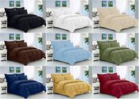 8-Piece Dobby™ Striped Comforter Set Wrinkle Resistant Silky Soft Hypoallergenic