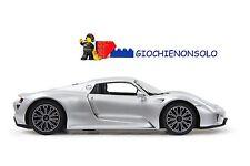 JAMARA 404578 - Porsche 918 Spyder 1:14 argento 27 MHz
