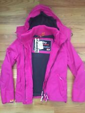 NWT Superdry Japan Women Professional Windcheater Hooded Artic Jacket Small $150