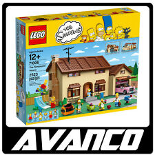 LEGO The Simpsons House 71006 Homer Bart Marge BRAND NEW SEALED