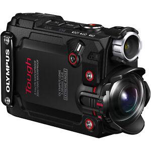 Olympus tough TG Tracker Action Camcorder Action Cam schwarz  + Zubehörpaket