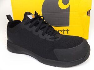 Carhartt Men's Force Nano Composite Toe Work Shoe Size 8.5 M, Black, 20218