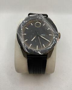 Movado Bold Series Mens Khaki PVD Steel Swiss Quartz Watch 3600452 FREE Shipping