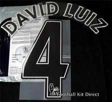 Chelsea David Luiz Premier League 4 Camiseta De Fútbol Nombre Set 2012-13 sencilia