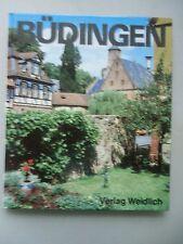Büdingen 1974 Landschaft Geschichte today and yesterday