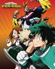 (M129) MINI POSTER My Hero Academia (Heroes To Action) 40cm x 50cm NEW WALL