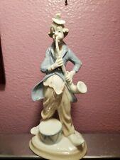 """Duncan Royale Circus Clown Statue Fine Porcelain Limited 10"""""""