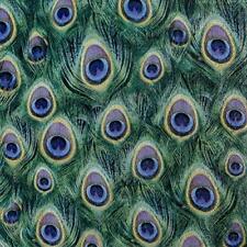 Servietten 20 Peacock Feathers Pfauenfeder HF 33x33