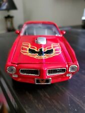 1973 PONTIAC FIREBIRD RED 1/24 SCALE DIECAST CAR BY MOTOR MAX 73243