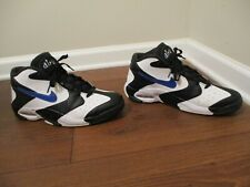 Used Worn Size 13 Nike Air Up '14 Shoes White, Black, Royal