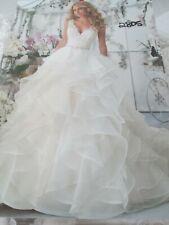 Mori Lee Wedding Dress #2805-  Ivory/Lt. Gold - Size 16